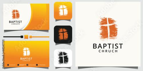 Church logo Fototapete