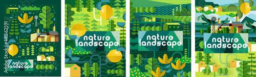 Canvas Print Nature and landscape