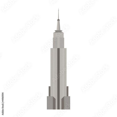 Canvas Print empire state usa monument