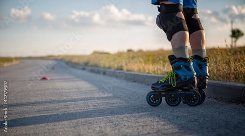 Obraz na plátně Roller skates