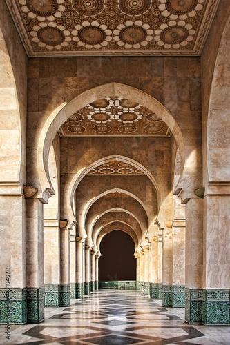 Obraz na plátně entrance to the mosque