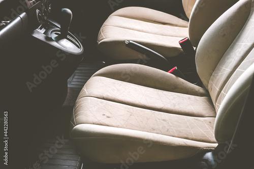 Fotografie, Obraz Stain on car seat