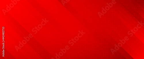 Canvas-taulu Abstract red vector background with stripes