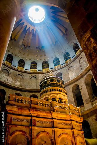 Photo Anastasis (resurrection) Rotunda over Edicule