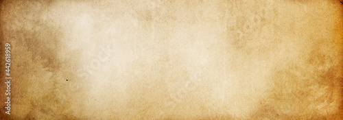 Brown paper texture, vintage background made of old paper