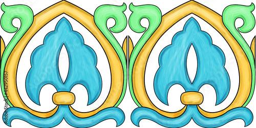 Foto Ceramiche artistiche di Caltagirone Sicilia Italia Mattonelle Scala Matrice Scal