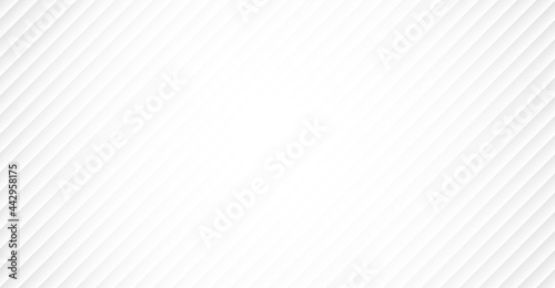 White abstract modern background with diagonal lines Fototapete