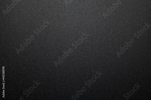 Obraz na plátně Black plastic material texture background. Close-up.