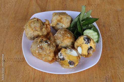 Stampa su Tela Deep-fried Foetal Eggs