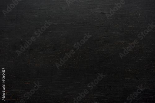 Leinwand Poster Black Wooden Surface Wallpaper