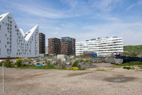 Obraz na plátně Modern Architecture at Aarhus Oe Jutland Denmark