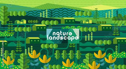 Canvastavla Nature and landscape