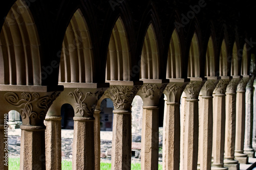 Fototapeta Monastery Vault In Iona Abbey, Scotland