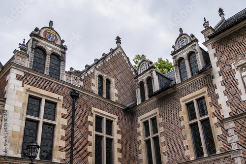 Obraz na plátně External view of XV century Groslot building - formerly residence of local magistrate