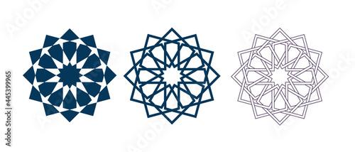 Fotografia Islamic traditional rosette