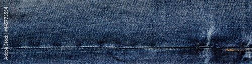 Fototapeta texture of blue jeans denim fabric background