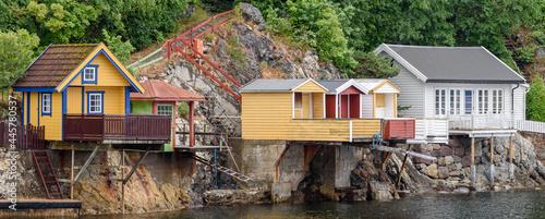 Vászonkép Oslo housing