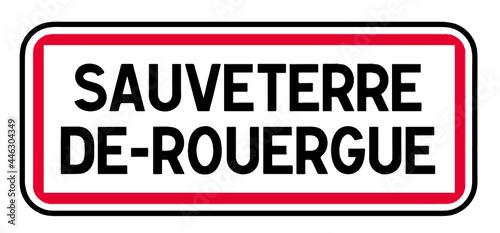 Canvas Print Sauveterre de Rouergue, Aveyron