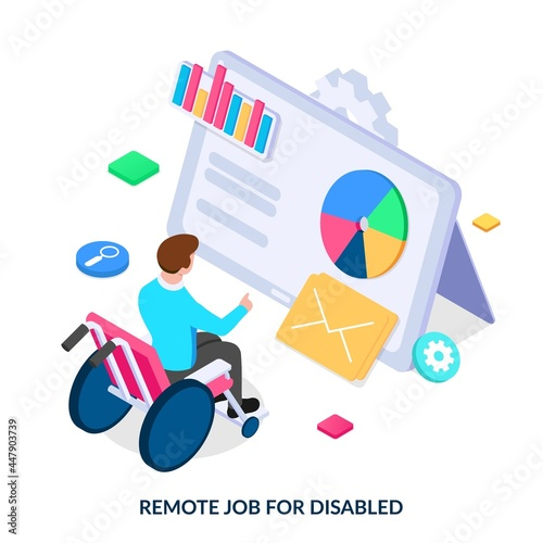 Canvas Accessibility of work, profession for people with disabilities