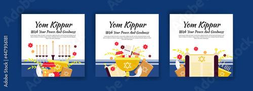 Canvas Print Happy yom kippur