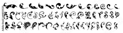 Photo Swirl ornament stroke
