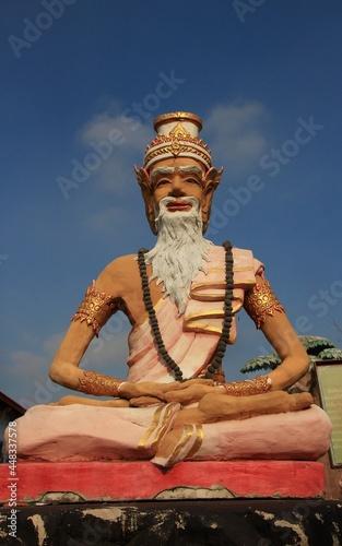 Obraz na plátně statue of hermit