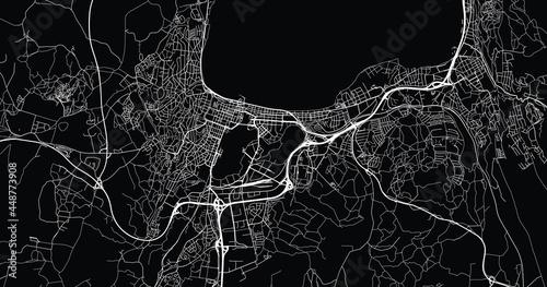 Fotografija Urban vector city map of Jokoping, Sweden, Europe