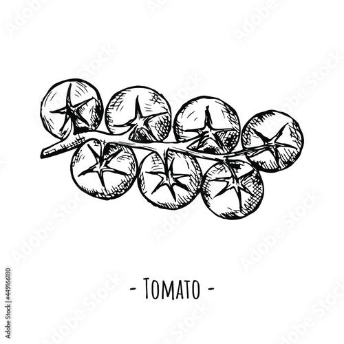 Fotografía Bunch of cherry tomatoes