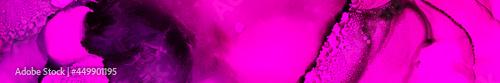 Love Watercolor. Red Fiery Satin. Violet Digital