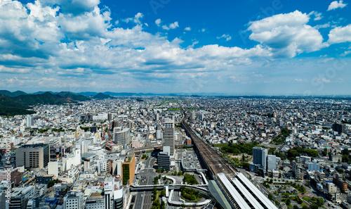 Fotografie, Obraz 空からの岐阜市