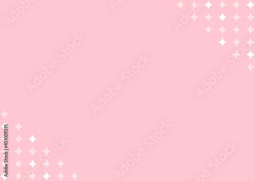 Fotografia, Obraz 背景 二角 キラキラ ピンク