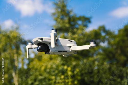 Murais de parede Photo of the drone during flight.