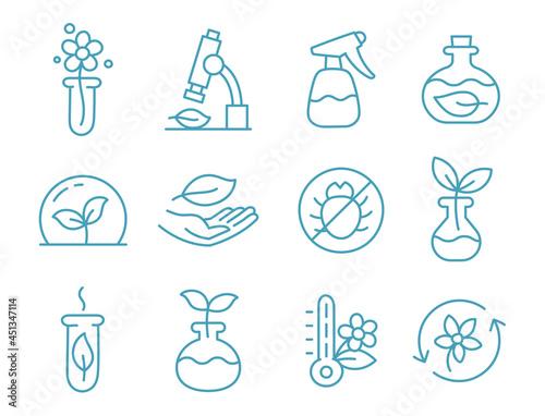 Obraz na plátně Set of icons