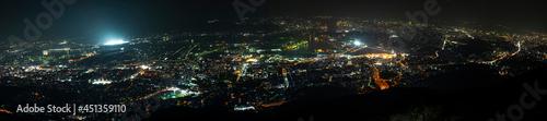 Obraz na plátne 北九州市皿倉山の夜景(新日本三大夜景)