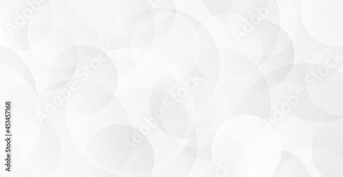 Fotografie, Tablou 円の重なりで表現した背景素材