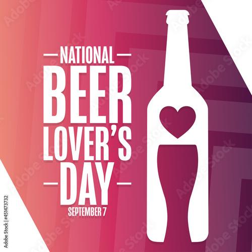 National Beer Lover's Day Fotobehang