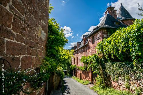 Collonge-la-Rouge, beau village de France en Corrèze. Tapéta, Fotótapéta