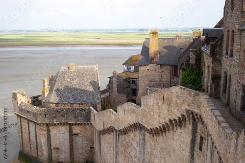 Fotografie, Obraz Ramparts view at Mont Saint-Michel