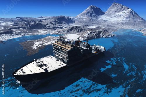 Obraz na plátně Icebreaker