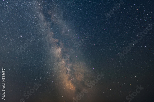 Foto Night sky view with stars