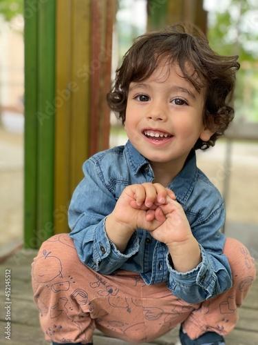 Obraz na plátne portrait of a little child