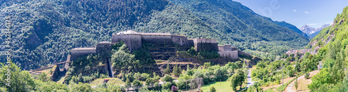 Fotografija The Exilles Fort is a fortified complex in the Susa Valley, Metropolitan City of