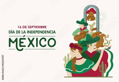 Photo Mexico Independence Day, 16 septiembre, bell, grito de independencia, Fiestas pa