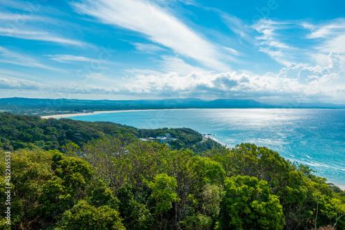 Obraz na płótnie オーストラリアのゴールドコースト、バイロン・ベイ周辺の観光名所を旅行している風景 Scenes from a trip around Byron Bay, Gold Coast, Australia