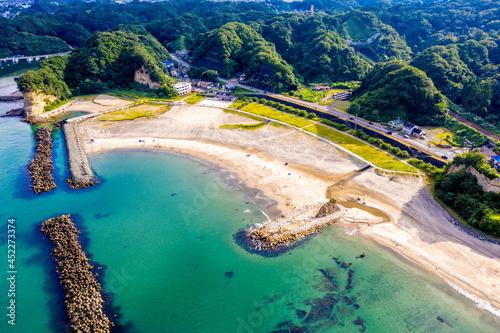 Billede på lærred 勿来海水浴場(福島県いわき市)
