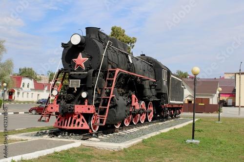 Fotografie, Obraz old locomotive