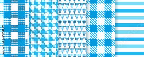 Fotografija Oktoberfest seamless patterns
