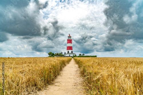 Billede på lærred Happisburgh Lighthouse, 21st August 2021