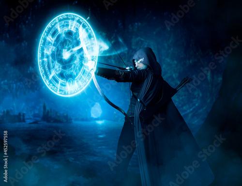 Fotografie, Obraz Archer Wizard