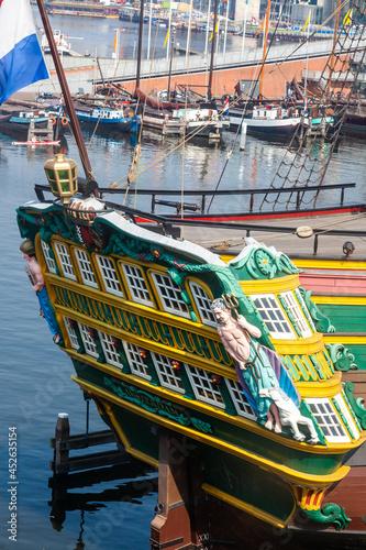 Canvas-taulu sailing ship